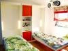 folding-beds-for-small-room-mdf-paited-red-1